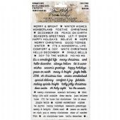 TIM HOLTZ® IDEA-OLOGY™ - Remnant Rubs - Christmas - TH93635